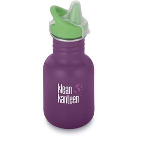 Klean Kanteen Kid Classic Bottle Sippy Cap 355ml Winter Plum